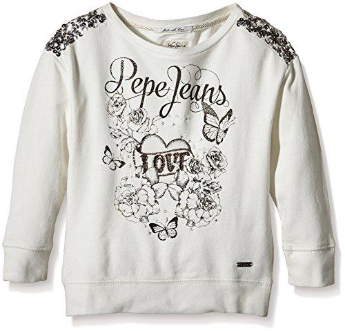Pepe Jeans Pepe Jeans Jungen Shelly Sweatshirt, Ecru - Ecru, 12 Jahre