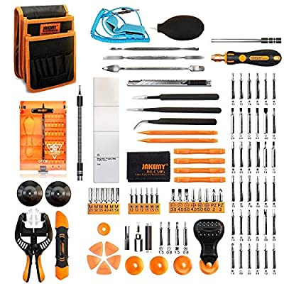 Jakemy Screwdriver Set, 99 in 1 with 50 Magneti...