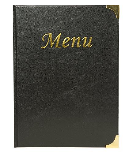 SECURIT Basic Range A4 - Cubierta para menús (2 Insertos Do