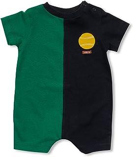 Macacão Curto Meio Campo Verde Green - Bebê Menino