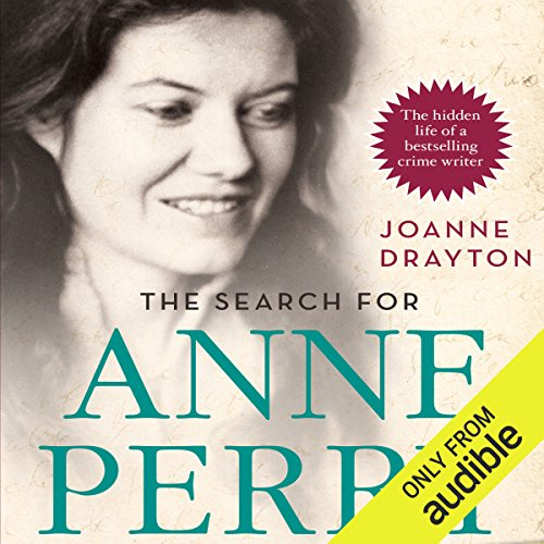 The Search for Anne Perry audiobook cover art