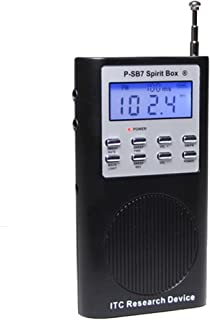 SB7 Spirit Box for Ghost Hunting - Newest Model with FM+AM and Free Speaker