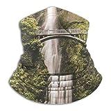 Wasserfall Print Hals Gamasche Gesicht Schal Bandana Nahtloses Stirnband Für Männer Frauen Sun Uv Windschutz Skifahren Reiten Laufen