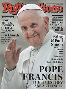 Single Issue Magazine Rolling Stone Magazine (February 13, 2014) Pope Francis Cover Book
