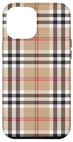 iPhone 12 Pro Max Checkered Plaid Flannel Gingham Pattern gifts Case