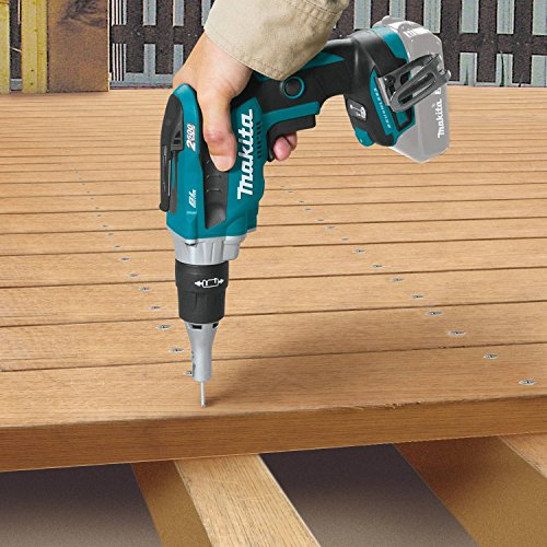 Makita XSF04Z 18V LXT Lithium-Ion Brushless Cordless 2, 500 Rpm Drywall Screwdriver, Tool Only