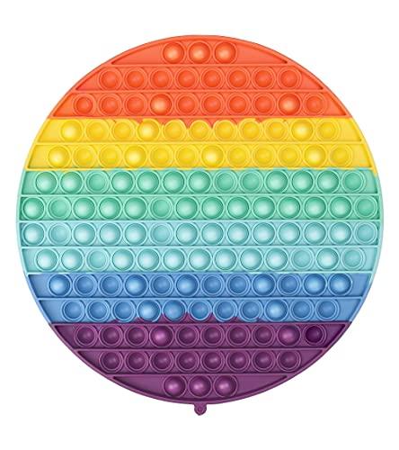 AnanBros XXL Pop Fidget Toy Großes 142 Bubbles Push Pop Pop Bubble Fidget Toys, Pop Set, Baby Spielzeug, Pop Figetttoys Set für Kinder, Erwachsene,Autismus ADHS, Poppet Antistress Spielzeug