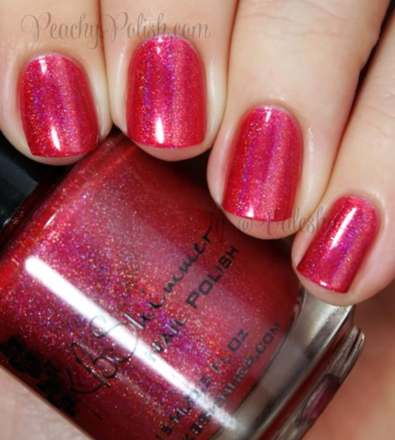 元気定刻シマウマKBShimmer Whole Lava Lovin' Nail Polish [海外直送]