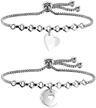 AKTAP Mother Daughter Bracelets Mom and Daughter Jewelry Birthday Gifts for Mom from Daughter