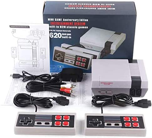 Classic Retro Game Console AV Output Console Built in 620 Classic Video Games for Kids Gift product image