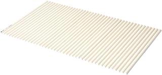 コーナン オリジナル LIFELEX(ライフレックス)シャッター式風呂フタ W-14 ラウンド型 幅80×長さ140cm