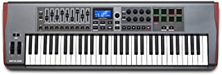 Novation Impulse 61 - Teclado MIDI (USB, 102,2 cm, 33,2 cm, 10 cm, USB) Negro