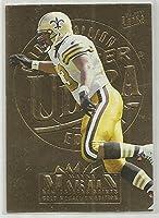 Wayne Martin 1995 Ultra Gold Medallion NFL Football Card #215 New Orleans Saints