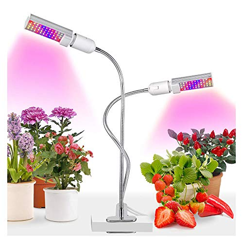 Color : White Projecteur /À LED /À Spectre Complet for Lampe De Croissance De Plantes De Jardin Int/érieur