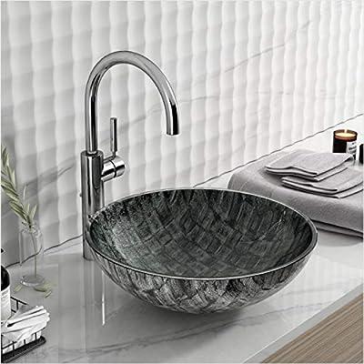 "16.5"" Dark Green Bathroom Sink Artistic Tem..."