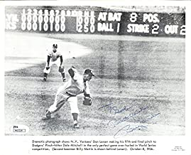 Billy Martin Autographed 8x10 Photo (JSA)