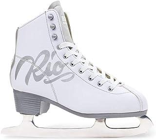 Rio Roller Script Ice Skates Patines para Hielo Patinaje Infantil, Juventud Unisex