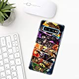 Overwatch phone case Samsung galaxy s10 plus s10e s9 s8 s7 edge s6 s5 note 8 9 10 hard plastic transparent silicone mobile phone cover art Overwatch