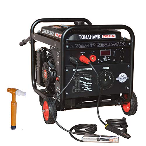 TOMAHAWK 15 HP Engine Driven Portable 2,000 Watt Generator with 210...