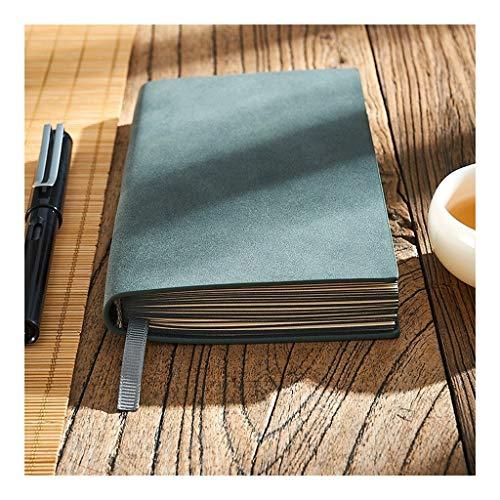 ZANZAN Cuadernos de Notas Mini Notebooks, surfacenotebook Suave, auténtica Piel de Oveja, 6,8'x3.9, Negocio, el General Notebook, Exquisita Literatura de Negocios y el Arte blocs de Notas