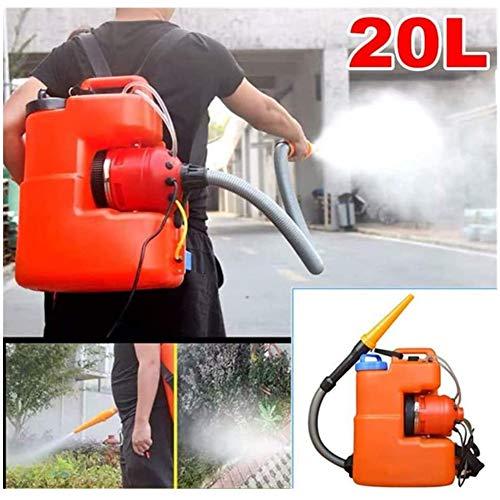 BOYZ 20L ULV - Fogger Elettrico spruzzatore Portatile Giardino Atomizzatore Disinfezione 6M-10M...