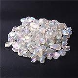 MAXIAOTONG 20G 50G Labradorita Natural Cuarzo Cristal Grava de Grava Piedra Natural Rock Chip Bead Curing Stone (Color : 20g, Size : Gratis)