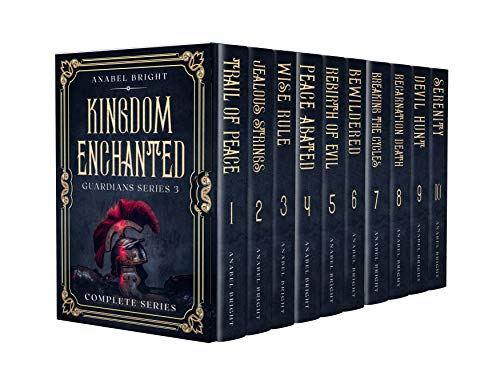 Boxset Series: Guardians Series 3 Boxset- Kingdom Enchanted: (Complete Series, 10 books) (English Edition)