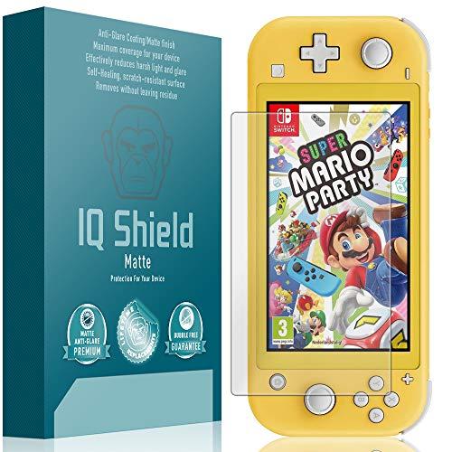 IQShield Matte Screen Protector Compatible with Nintendo Switch Lite (5.5 inch, 2019)(2-Pack) Anti-Glare Anti-Bubble Film