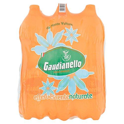 Gaudianello - Acqua Minerale Effervescente 1.5L (Confezione da 6)