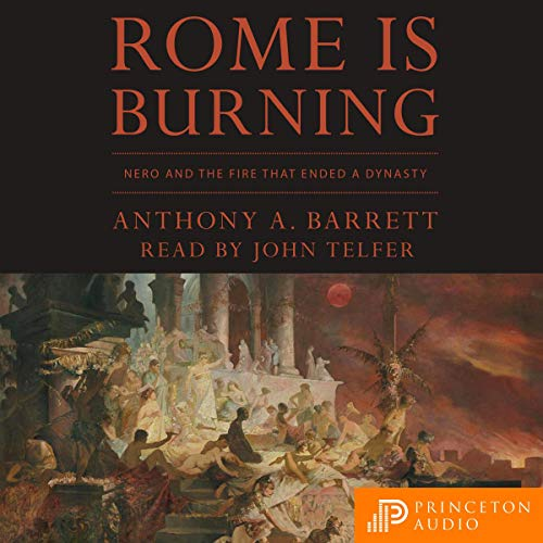 Page de couverture de Rome Is Burning