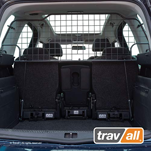 Travall Guard Hundegitter Kompatibel Mit Skoda Roomster (2006-2015) TDG1168 - Maßgeschneidertes Trenngitter in Original Qualität