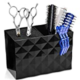 Scissor Holder, Hair Scissors Large Storage Box, Hairdressing Combs Clips Scissors Hair Desktop Organizer Box, Hair Scissors Set