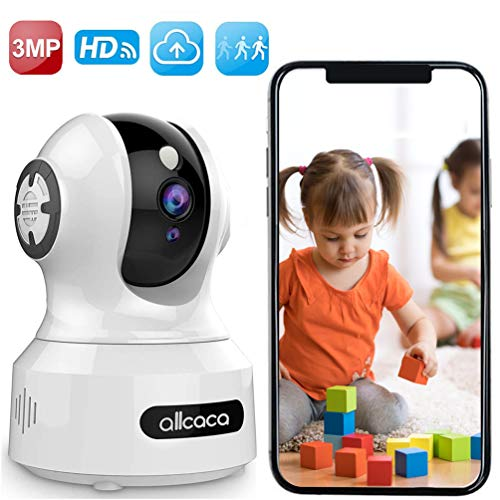 [Update] Baby Camera Monitor,allcaca 1536P Wireless IP Camera 3MP Smart Security Camera Pet Camera...
