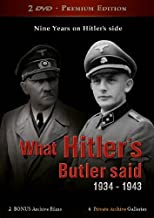 What Hitler's Butler said (2 DVD Premium Edition) [Reino Unido]