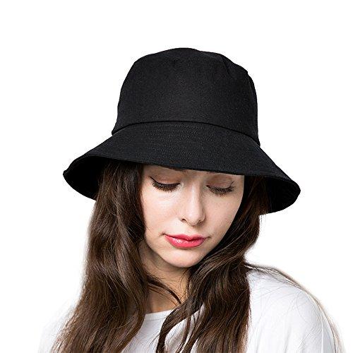 Bucket Sun Hat Women Cotton Hats Te…