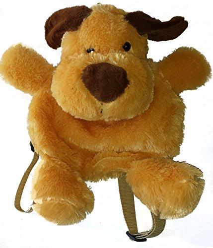 PANGIFRIENDZ Rucksack Plüsch Plüschtier Kinderrucksack Plüschrucksack Tasche Hund Ente HASE (Hund)