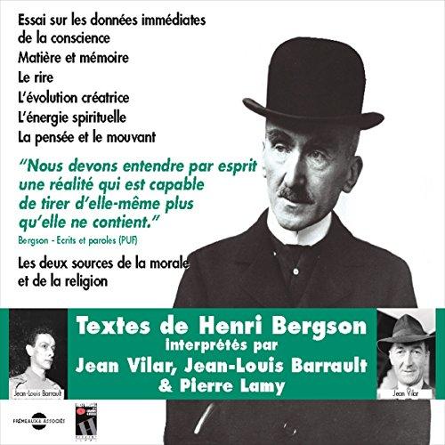 Essai sur les données immédiates de la conscience. Textes de Henri Bergson audiobook cover art