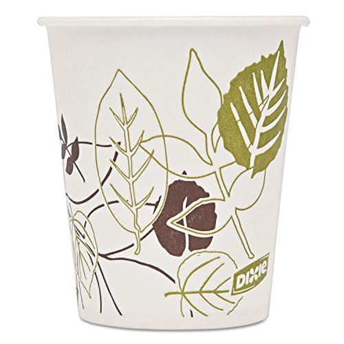 Dixie Pathways WiseSize Cup - 5oz - 50/Pack - Wax Paper - White by Dixie