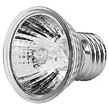 AMONIDA Luz de calefacción de Reptiles, luz de Acuario, 1 Unidad, 50 g, Calentador de Acuario, luz de calefacción de Acuario, lámpara de Calor de Tortuga, para lámpara de Reptil para lámpara de(50W)