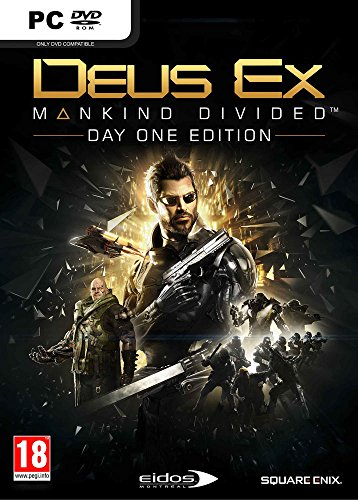 Deus Ex : Mankind Divided - édition day one - PC - [Edizione: Francia]