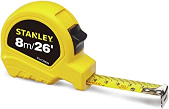 Stanley Short Tapes Metric/Imperial, 8m/26' x 25mm, STHT33994-8