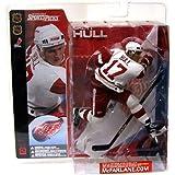 McFarlane Toys NHL Sports Picks Series 2 Action Figure: Brett Hull (Detroit Red Wings) White Jersey