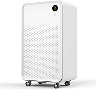 Luko 4 Gallon (30Pint) Portable Dehumidifier One-Button Intelligent Operation Silent Design for up to 500 Sq Ft - with 2L Water Tank, for Home, Bedroom, Living Room, Basement, Garage etc. (One-button)