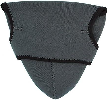 eDealMax La caja del filtro gris Oscuro Dual Camino de neopreno cubierta de la Bolsa Para
