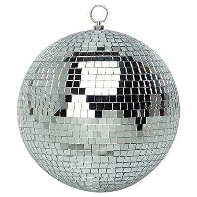 """10cm (4"""") Plain Glass Mirror Ball"""