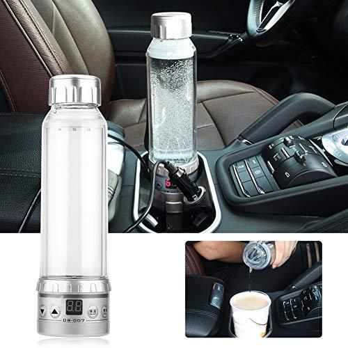 Keenso 280 ml 12V Auto Wasserkocher Tasse Reise Heizung Becher Wasserkocher Kochendes Auto Kaffeebecher Heizung mit Zigarettenanzünder