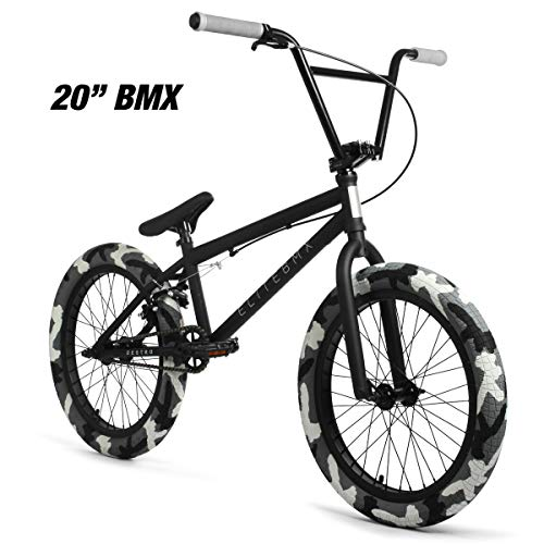 "Purchase Elite 20 & 18"" BMX Bicycle Destro Model Freestyle Bike - 4 Piece Cr-MO Handlebar (20 De..."