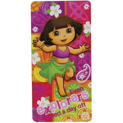 Toalla - Dora la Exploradora - Salsa de 26 x 147,32 cm Nuevo baño/playa con licencia