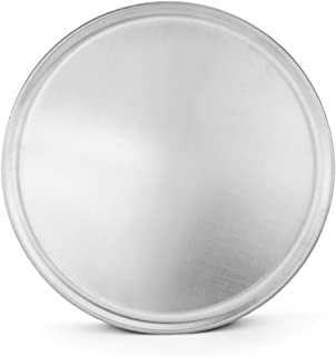 New Star Foodservice 51049 Pizza Pan / Tray, Coupe Style, Aluminum, Pack of 6, 16 inch