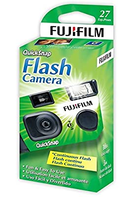 Fujifilm QuickSnap 400 Speed Single Use Camera with Flash from